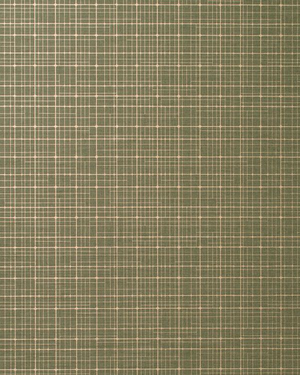 Vinyl Wall Covering Len-Tex Contract Geo-Metro Garden Plot