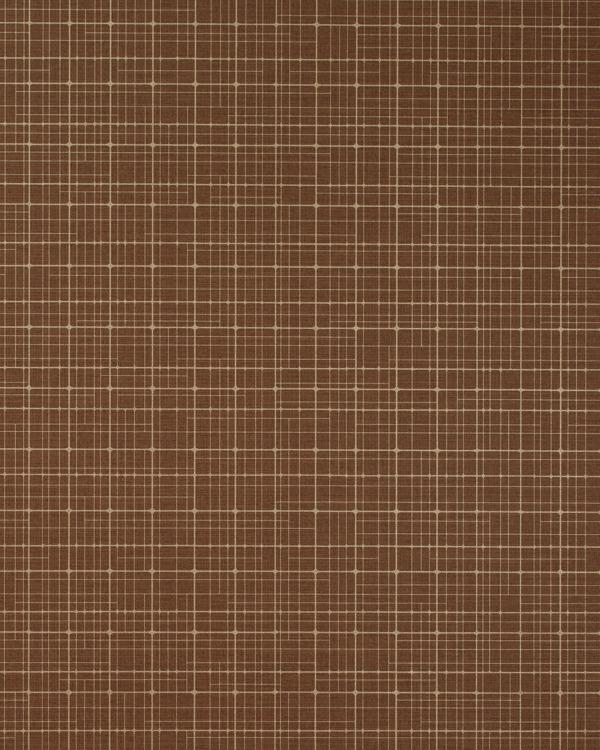 Vinyl Wall Covering Len-Tex Contract Geo-Metro Chocolate Box