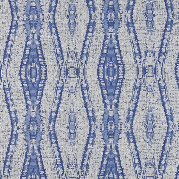 Vinyl Wall Covering Bolta Contract Peruvian Diamond Secret Blue