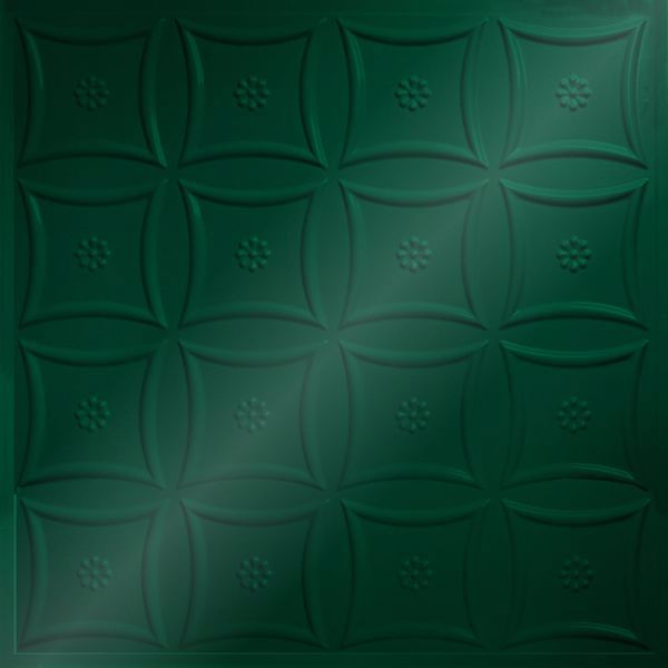 Vinyl Wall Covering Dimension Ceilings Starburst Ceiling Metallic Green