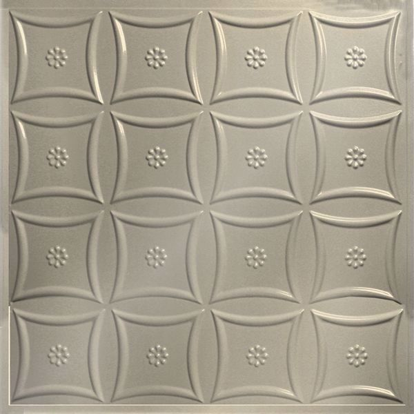 Vinyl Wall Covering Dimension Ceilings Starburst Ceiling Off White