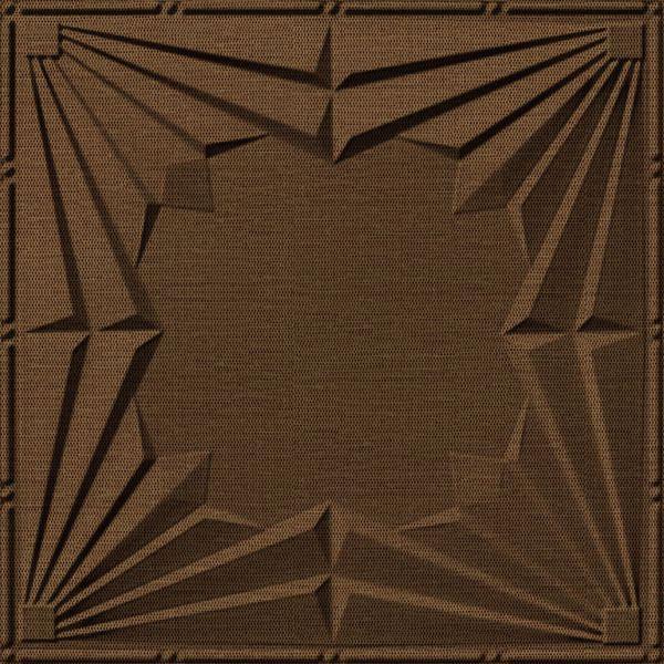 Dimensional Panels Dimension Ceilings Spotlight Ceiling Linen Chestnut