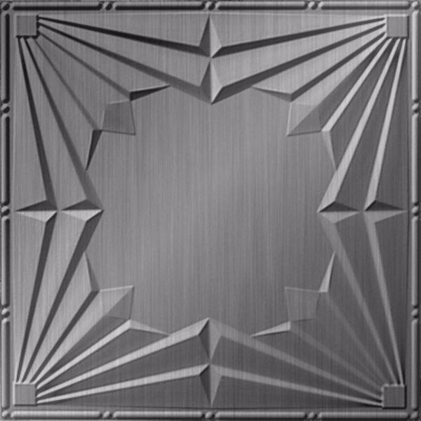 Dimensional Panels Dimension Ceilings Spotlight Ceiling Brushed Aluminum