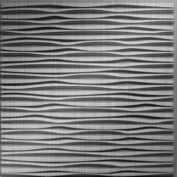 Dimensional Panels Dimension Ceilings Adirondack Ceiling Brushed Aluminum