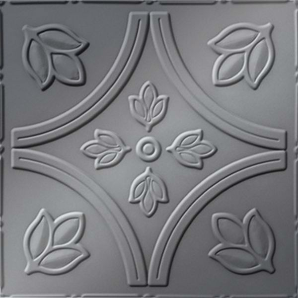 Vinyl Wall Covering Dimension Ceilings Tulip Fields Ceiling Metallic Silver