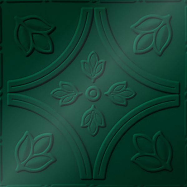 Dimensional Panels Dimension Ceilings Tulip Fields Ceiling Metallic Green
