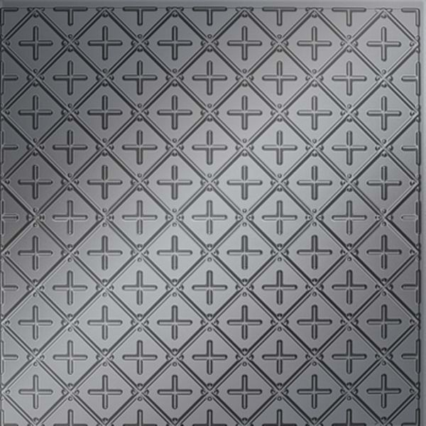 Vinyl Wall Covering Dimension Ceilings Square Button Ceiling Metallic Silver