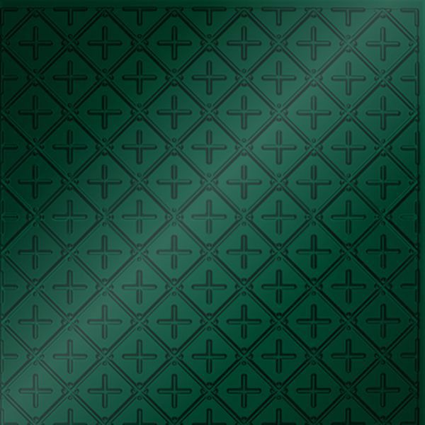 Vinyl Wall Covering Dimension Ceilings Square Button Ceiling Metallic Green