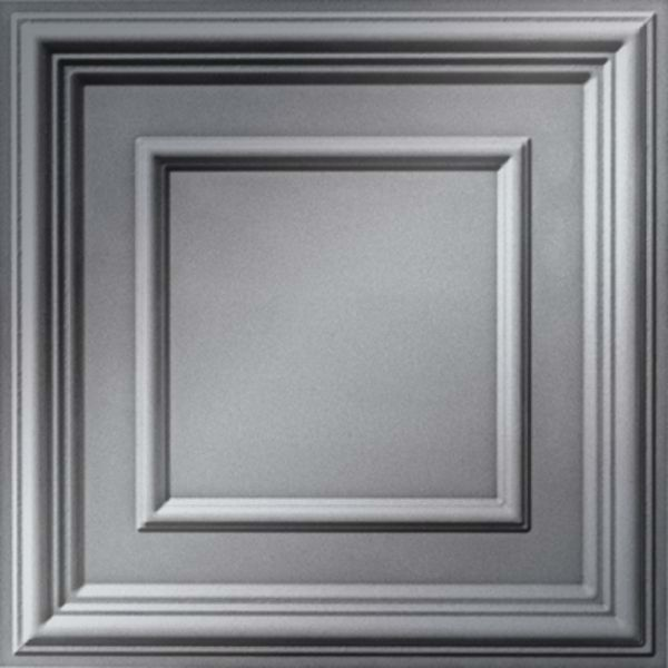 Vinyl Wall Covering Dimension Ceilings Picture Perfect Ceiling Metallic Silver