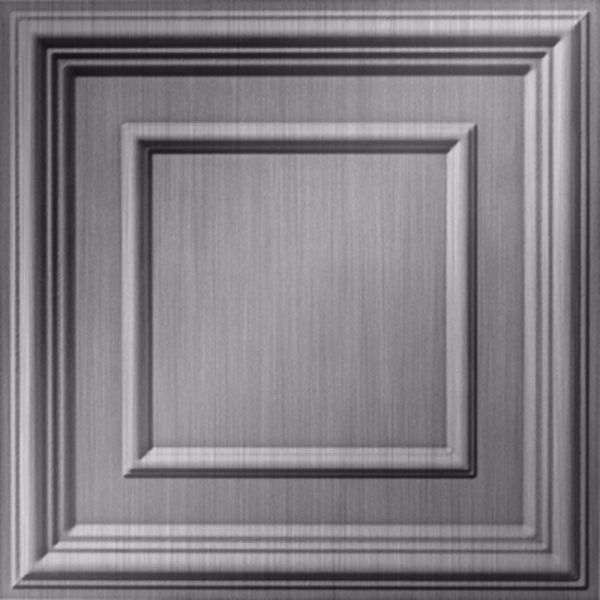 Vinyl Wall Covering Dimension Ceilings Picture Perfect Ceiling Brushed Aluminum