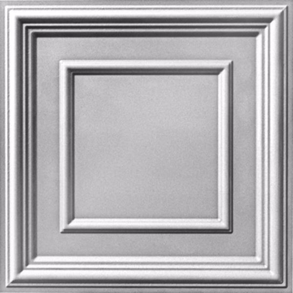 Vinyl Wall Covering Dimension Ceilings Picture Perfect Ceiling White/Paintable