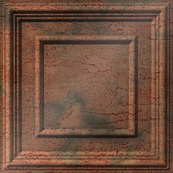 Vinyl Wall Covering Dimension Ceilings Picture Perfect Ceiling Aged Copper