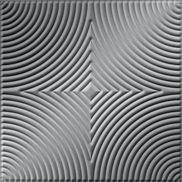 Vinyl Wall Covering Dimension Ceilings Mackenzie Ceiling Metallic Silver