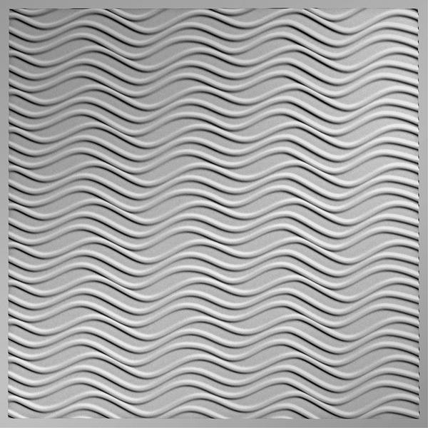 Dimensional Panels Dimension Ceilings Sierra Ceiling Metallic Silver