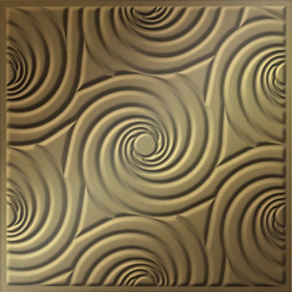 Vinyl Wall Covering Dimension Ceilings Bouquet Ceiling Metallic Gold