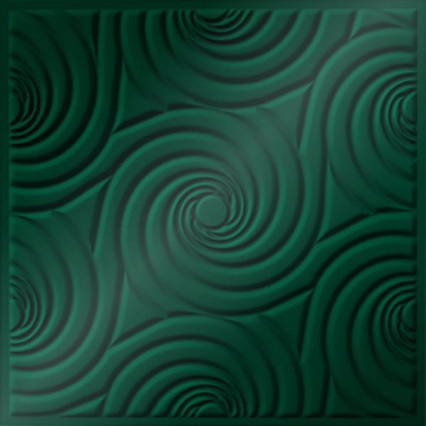 Vinyl Wall Covering Dimension Ceilings Bouquet Ceiling Metallic Green