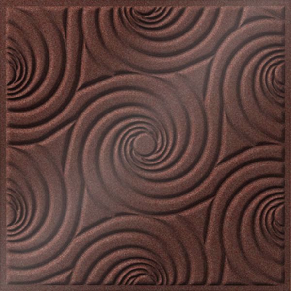 Vinyl Wall Covering Dimension Ceilings Bouquet Ceiling Copper