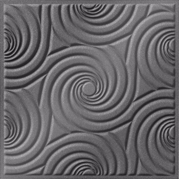 Vinyl Wall Covering Dimension Ceilings Bouquet Ceiling Silver