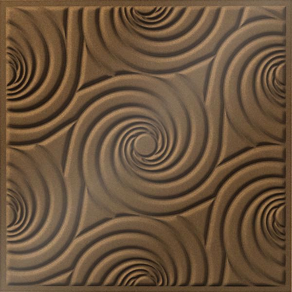 Vinyl Wall Covering Dimension Ceilings Bouquet Ceiling Gold