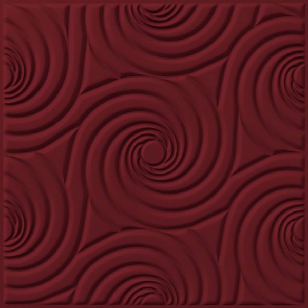 Vinyl Wall Covering Dimension Ceilings Bouquet Ceiling Marsala