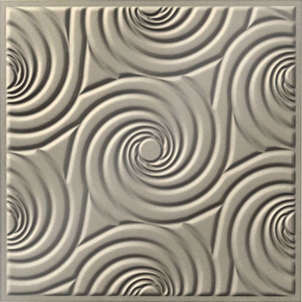 Vinyl Wall Covering Dimension Ceilings Bouquet Ceiling Off White