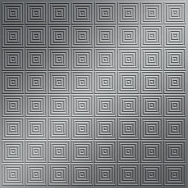 Vinyl Wall Covering Dimension Ceilings Small Teton Ceiling Metallic Silver