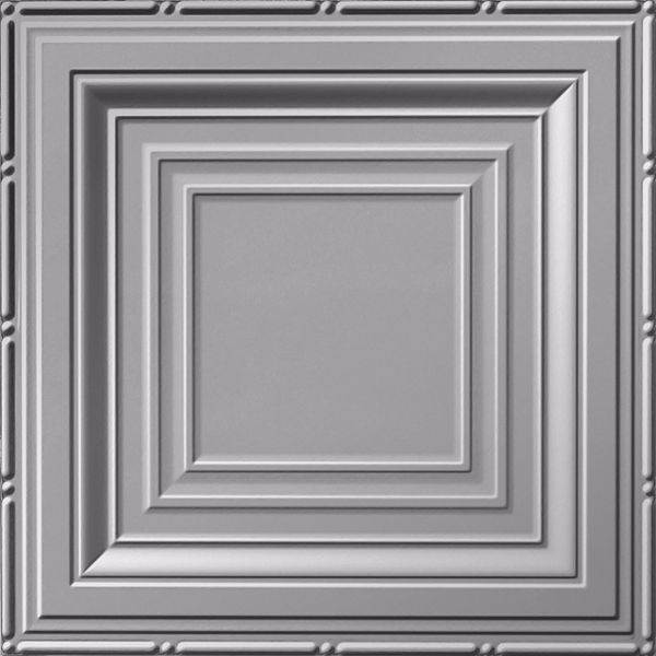 Vinyl Wall Covering Dimension Ceilings Inside Angles Ceiling Metallic Silver