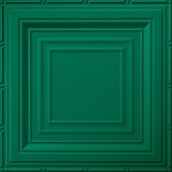 Vinyl Wall Covering Dimension Ceilings Inside Angles Ceiling Metallic Green