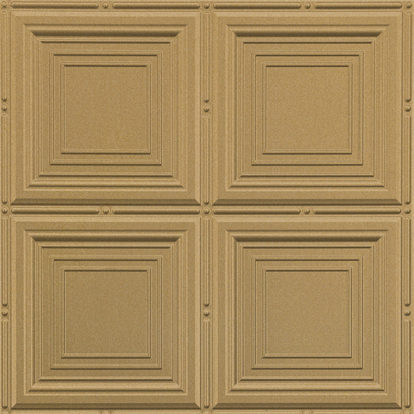 Vinyl Wall Covering Dimension Ceilings Sandcastle Gold