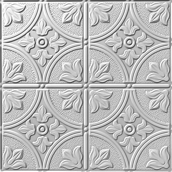 Vinyl Wall Covering Dimension Ceilings Flower Garden Ceiling Metallic Silver