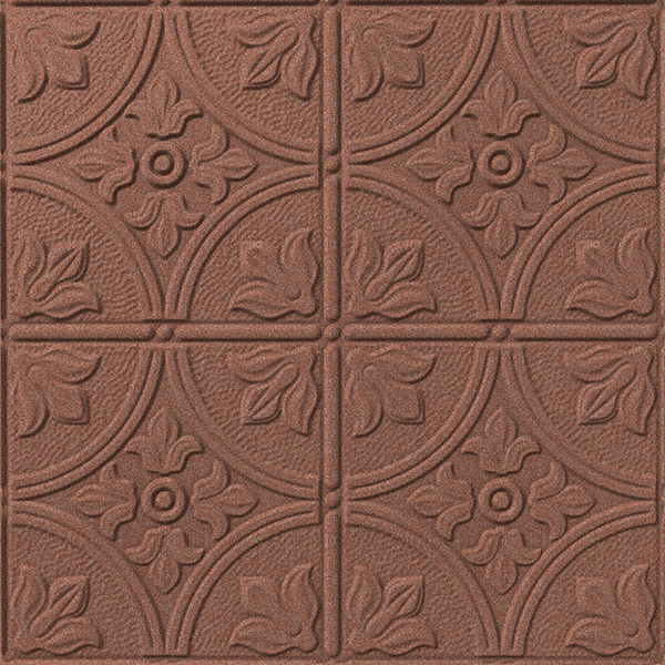 Vinyl Wall Covering Dimension Ceilings Flower Garden Ceiling Copper
