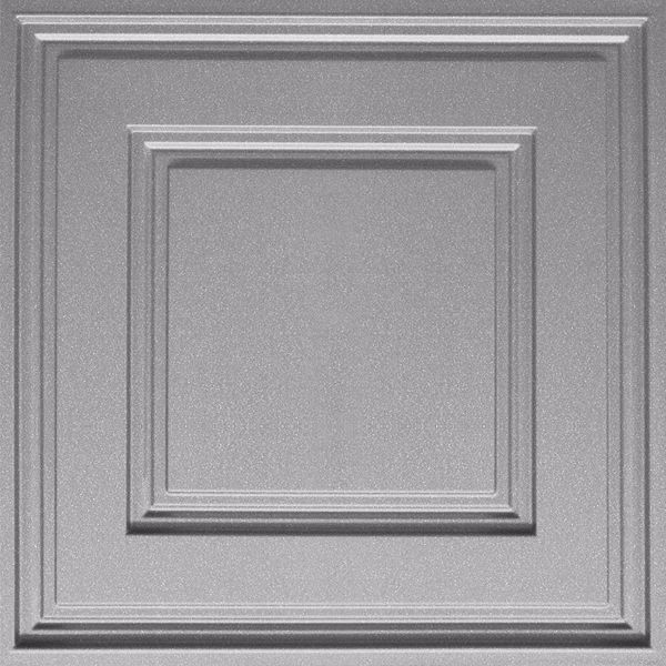 Vinyl Wall Covering Dimension Ceilings Cubed Ceiling Silver