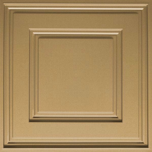 Vinyl Wall Covering Dimension Ceilings Cubed Ceiling Gold