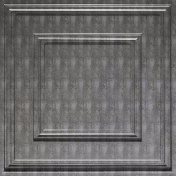 Vinyl Wall Covering Dimension Ceilings Cubed Ceiling Etched Silver