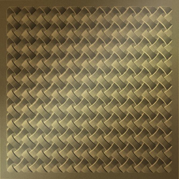 Vinyl Wall Covering Dimension Ceilings Loom Ceiling Metallic Gold