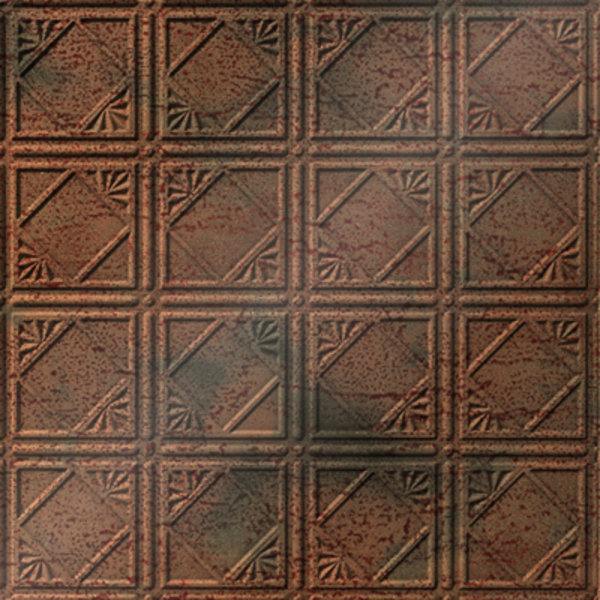 Vinyl Wall Covering Dimension Ceilings Look This Way Ceiling Aged Copper