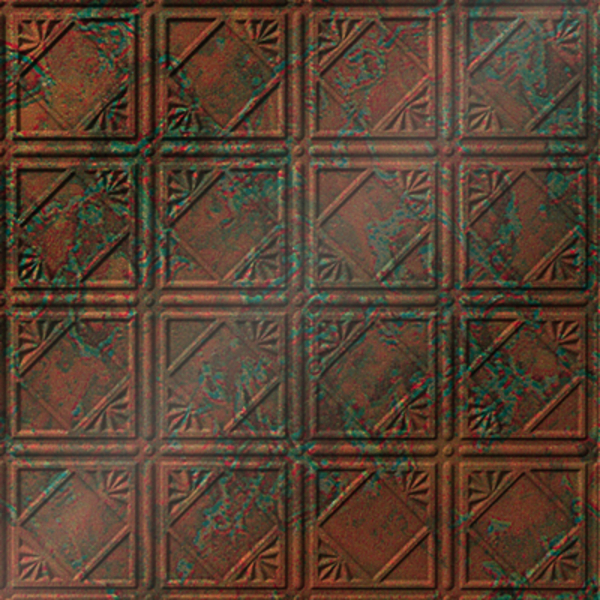 Vinyl Wall Covering Dimension Ceilings Look This Way Ceiling Copper Patina