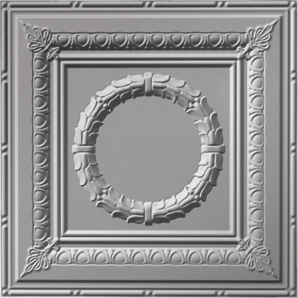 Vinyl Wall Covering Dimension Ceilings Caesar Ceiling Metallic Silver