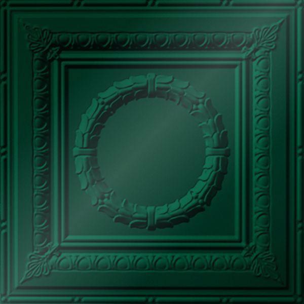 Vinyl Wall Covering Dimension Ceilings Caesar Ceiling Metallic Green