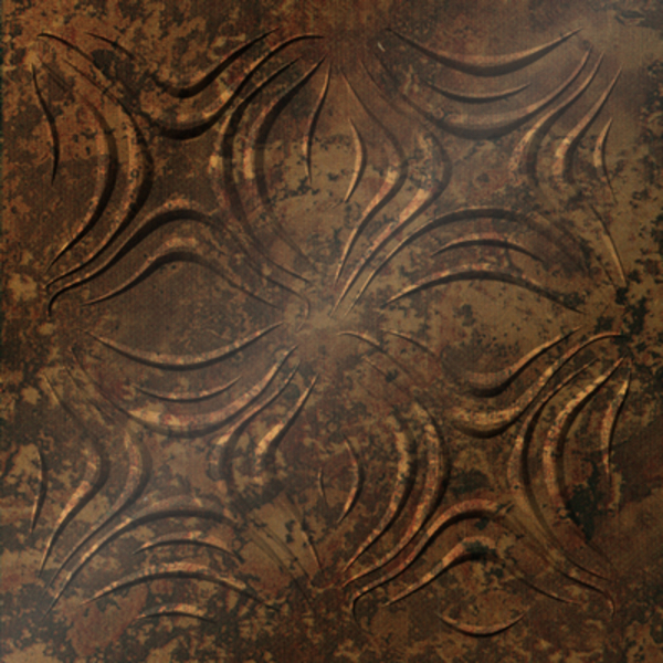 Vinyl Wall Covering Dimension Ceilings Blossom Ceiling Bronze Patina