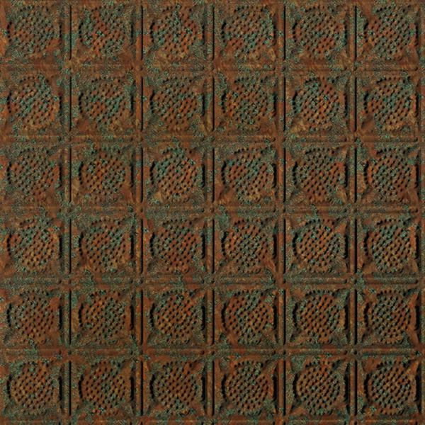 Dimensional Panels Dimension Ceilings Vaulted Ceiling Copper Patina