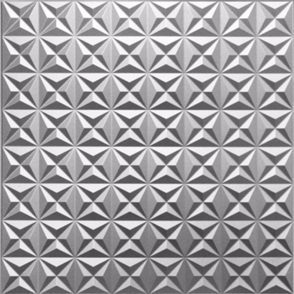 Vinyl Wall Covering Dimension Ceilings Nova Ceiling Metallic Silver