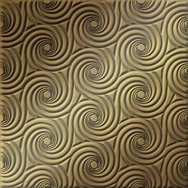 Vinyl Wall Covering Dimension Ceilings Cyclone Ceiling Metallic Gold