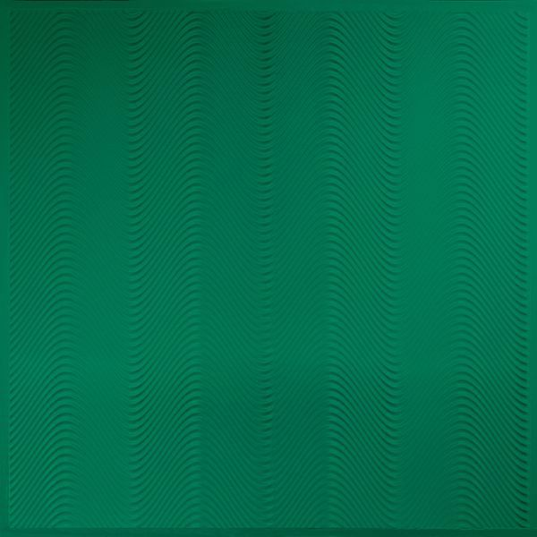 Vinyl Wall Covering Dimension Ceilings Sound Bite Ceiling Metallic Green