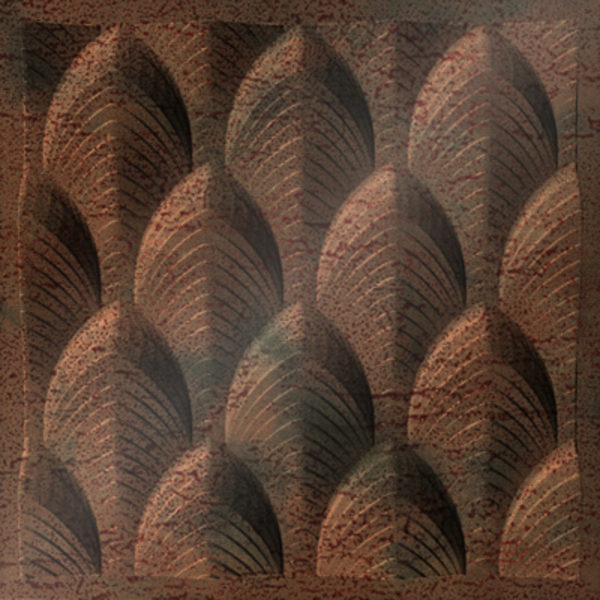 Dimensional Panels Dimension Ceilings Dubai Ceiling Aged Copper
