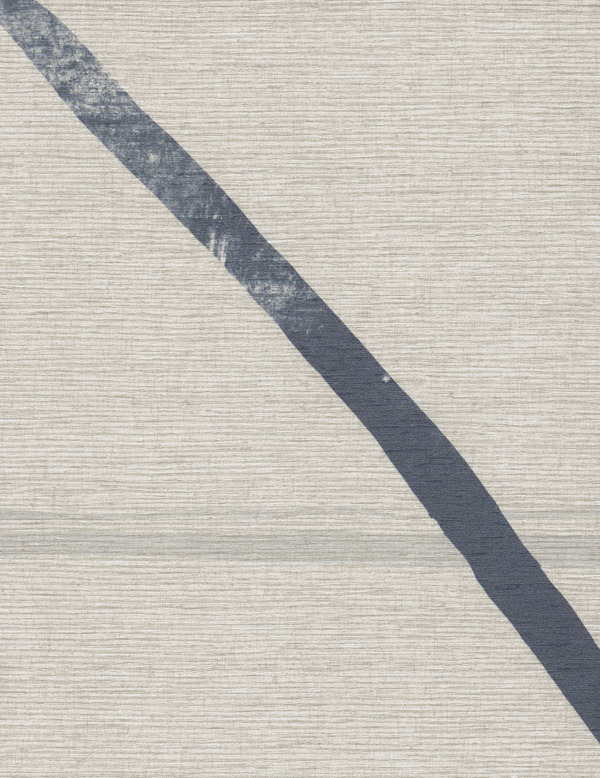 Vinyl Wall Covering Design Gallery Viva La Art Ebb and Flow Blue Streak