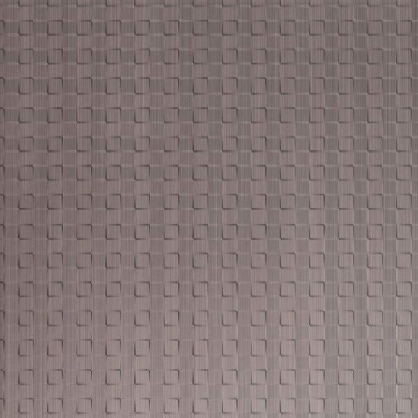 Vinyl Wall Covering Dimension Walls Expanded Metro Brushed Nickel