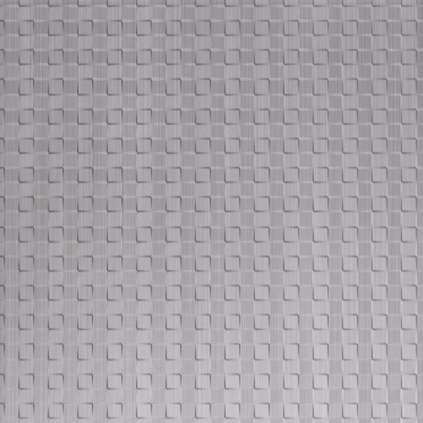 Vinyl Wall Covering Dimension Walls Expanded Metro Brushed Aluminum