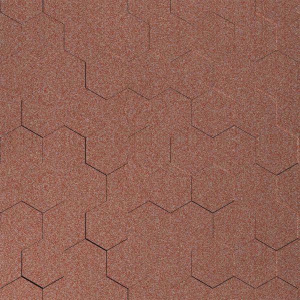Vinyl Wall Covering Dimension Walls Honeycomb Copper