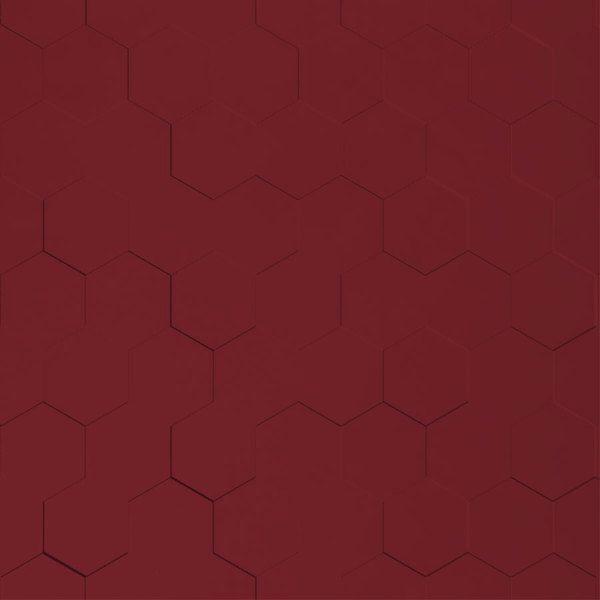 Vinyl Wall Covering Dimension Walls Honeycomb Marsala